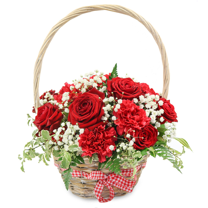 FLOWERS OF LOVE BASKET